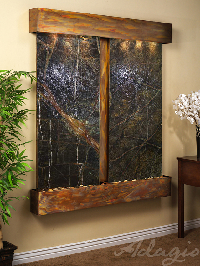 Three reasons why you need to purchase a wall mounted - Water feature inside house ...