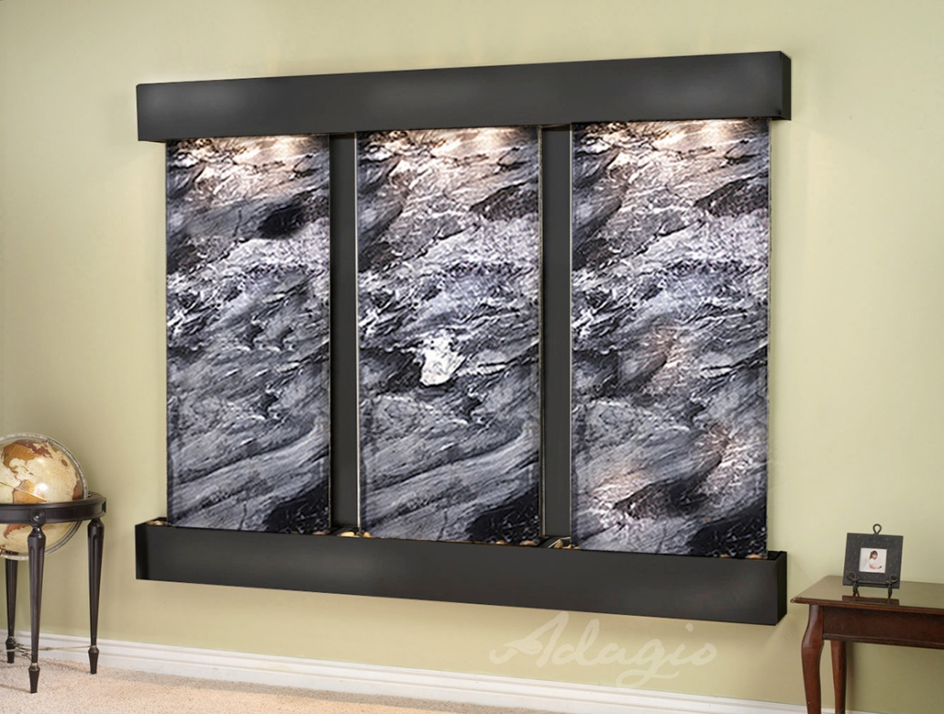 office water features. Wall Water Feature Indoor - Deep Creek Falls Fountain Office Features O