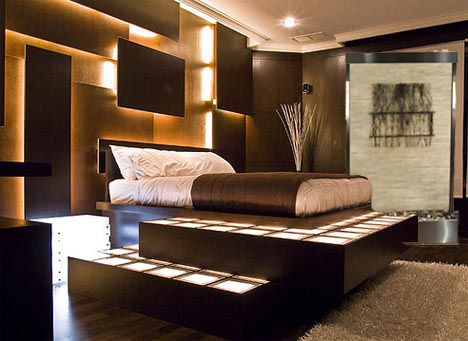 Bedroom floor fountain  Wall Water Wall   Wall Water Features and Fountains. Indoor Bedroom Water Fountain. Home Design Ideas